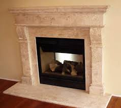 Baltimore Simple Fireplace Surround | Cast Stone Mantel