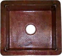 hammered copper kitchen sink: natural color flat hammered copper kitchen sink