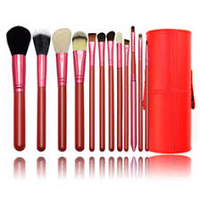 makeup brushes brushes round holder cup pu leather brush holder organizer conner foundation eyebrow kits for makeup