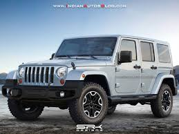 2018 jeep wrangler front three quarters rendering
