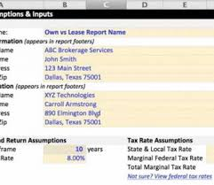 Awesome Lease Vs Buy Equipment Spreadsheet Documents Ideas Rent