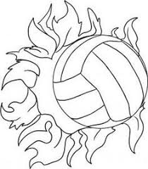 Volleyball Color Pages 84 Best Volleyball Images On Pinterest Volleyball Ideas Fastpitch