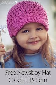 Newsboy Crochet Hat Pattern