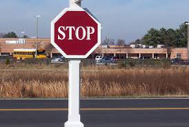 Decorative Stop Signs