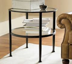 tanner round end table