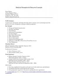 sample resume for hotel receptionist with no experience resume resume for high school students with no experience samples