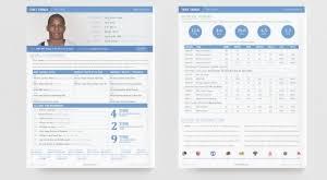 Professional basketball resume sample