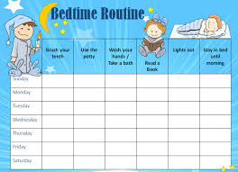 Bedtime Charts Free 5 Year Old Bedtime Reward Chart Free Educative Printable