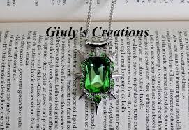 collana amuleto zelena glinda once upon a time c era una volta strega verde