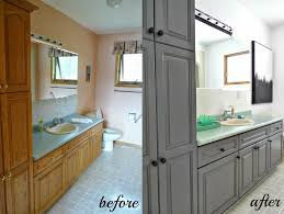 cabinet refinishing latex paint vs stain vs rustoleum