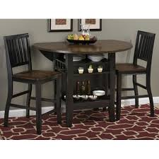 kitchen bar tables sets. braden birch 48 round counter height 3 piece pub table set black with regard to attractive house sets ideas kitchen bar tables