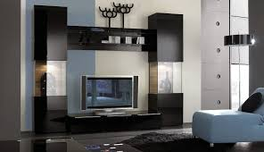 screen decoration chic mount unit flat ideas mo living cabinet fireplace room gas wall small houzz