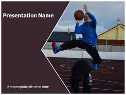 Basketball Powerpoint Template Free Get This Free Playing Basketball Powerpoint Template With