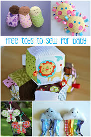 Free Sewing Patterns For Baby Enchanting 48 Free Baby Toys To Sew PeekaBoo Pages Patterns Fabric More