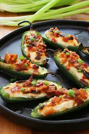 Grilled Jalapeno Poppers Recipe Cooking Light Bacon Goat Cheese Jalapeño Poppers