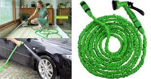 flexible garden hose. The Expandable Magic Garden Hose Worth Rs. 1,900 For Just 1,100! Flexible I