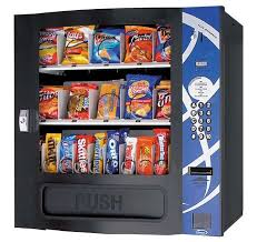 Compact Combination Vending Machine Delectable Seaga SM48SB Small Snack Vending Machine Seaga Vending