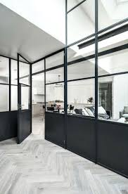 white kitchen windowed partition wall: the househunter    mad about the house middot crittal internalinternal windowssteel partitionkitchen