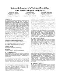 Research Paper Terms Pdf Technical Trend Analysis By Analyzing Research Papers Titles