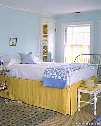 Lemon And Grey Bedroom Yellow Rooms Martha Stewart