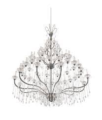 antique candle chandelier 3d model