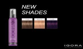 Schwarzkopf Professional Igora Expert Mousse New Shades