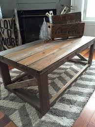 shabby chic coffee table rustic