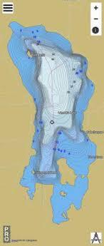 Lamoka Lake Fishing Map Us_aa_ny_lamoka_lake_ny