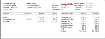 Pay Stub Calculator California Payroll Software Solution For California Small Business