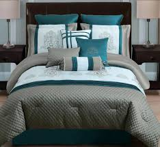 grey and teal bedding sets photo 1 of 8 teal bedspreads and comforters teal and taupe