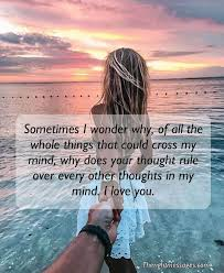 Thinking Of You Quotes Text Messages For Her The Right Messages