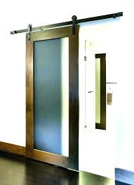 barn doors for sliding glass door hardware interior with frosted