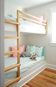 built in bunk beds.  Bunk Diy Built In Wall To Bunk Beds With Chihuahua On Bottom To Built In Bunk Beds Young House Love