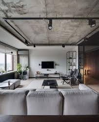 concrete ceiling lighting ideas 64