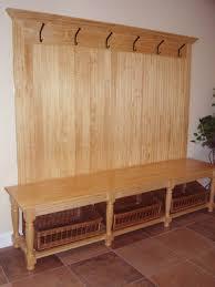 Mudroom Bench And Coat Rack Wooden Entryway Bench Coat Rack STABBEDINBACK Foyer Create Ideal 87