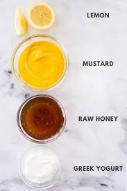 4 ing honey mustard dressing