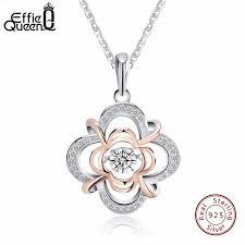 Online Shop <b>Effie Queen 100</b>% <b>925</b> Sterling Silver Material Women ...