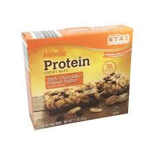 millville peanut er dark chocolate protein chewy bars