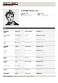 Actor Resume Classy 40 Acting Resumes Of Celebrities And Celebrity Wannabes