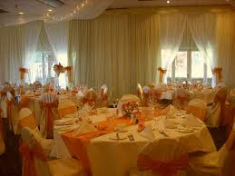 wedding wall ds tie backs overlays party linen