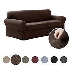 Slipcover Price Chart Maytex Pixel Ultra Soft Stretch 2 Piece Sofa Furniture Cover