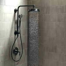 rainfall shower head with handheld delta rain shower head with handheld bronze handheld shower head rain