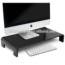 Macbook Pro Display Stand Unique U Shaped Clear Counter Display Stand Holder Riser Acrylic For