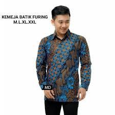 01/01 no.41 desa bojong rangkas kec. Ready Kemeja Furing Terbaru Order Yuk Batik Kencana Biru Facebook