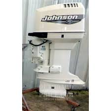 used johnson 150 hp 2 stroke j150pxees outboard motor