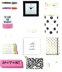 feminine office supplies. Feminine Office Supplies Accessories On The Blog Spade Style Steal Home