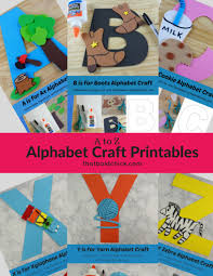 Free Craft Printables Templates Alphabet Craft Printables That Bald Chick