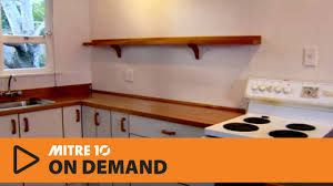 Mitre 10 Mega Kitchen Cabinets How To Install A Flat Pack Kitchen Part 1 Mitre 10 Easy As