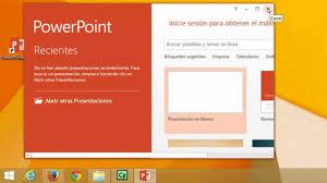 Curso De Powerpoint 2013 1 Empezar Con Powerpoint
