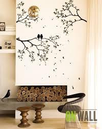 large tree branches mural nursery vinyl